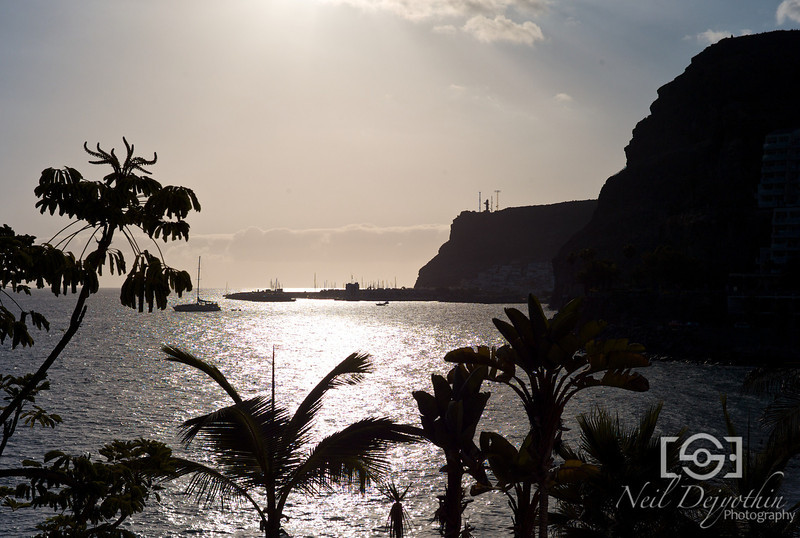 The hotel view from my room on the hotel beach front in Gran Canaria.<br /> <br /> Leica M8 + CV 28mm Ultron 2.0