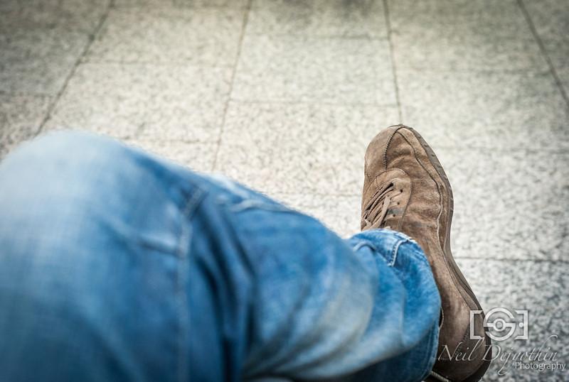 Mein Fuß<br /> <br /> Leica M8 + VC Nokton 40mm Classic 1.4