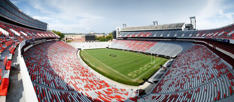 Sanford Stadium Panorama