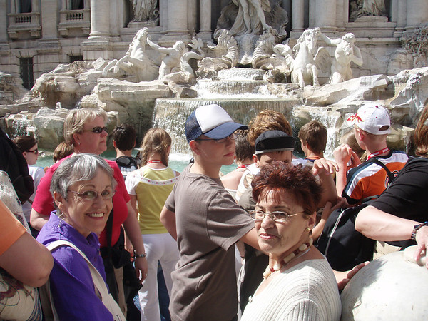 Mom and Dad in Rome 2007