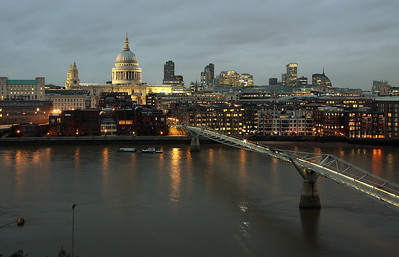 st pauls from tate modern