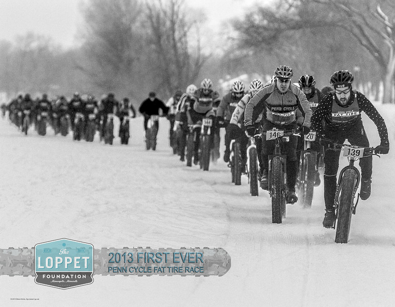 2013 Penn Cycle Fat Tire Race Poster