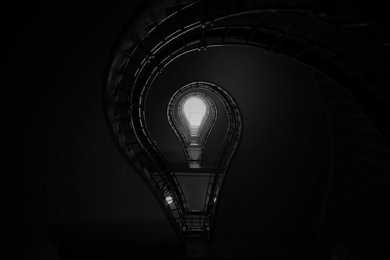 Lightbulb Staircase