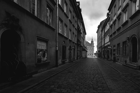 Rainy Warsaw