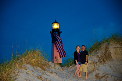 Lighthouse on Tybee Island outside of Savannah, GA.