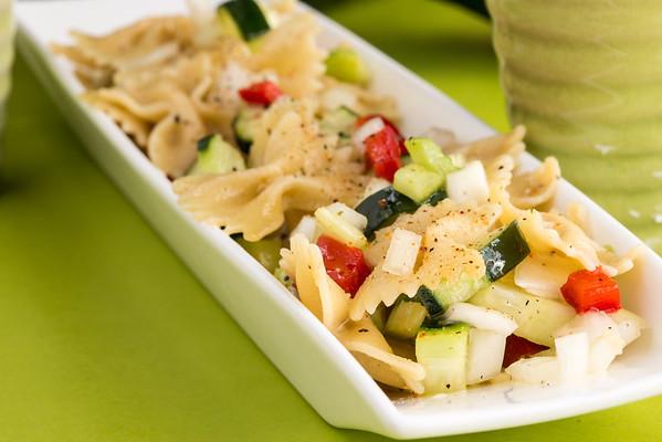 Cucumber Pasta Salad