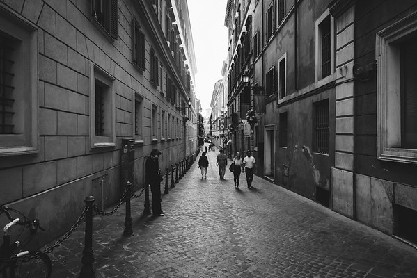 Alleys in Rome