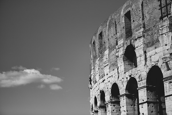 Walls of Colosseum