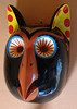 Owl: $4000<br /> <br /> Mask-maker Gorgonio Candelario Castro is the son of the renowned Herminio Candelario Dolores from Suchitlán, Colima. Herminio passed away some years ago and Georgonio has followed in his father's footsteps, hand carving wooden masks of unusual quality. Six dance masks are offered.