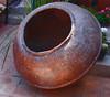 Polished copper bombonera. (see previous photo).