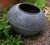 """69 Kg. Antique Hand Forged Hammered Copper Olla Bombonera. Price: $15,000 MXN.<br /> <br /> This is a marshmellow pot. Size: 23'H x 37""""D. Weight: 69 kilos (152 pounds) of solid copper. Estimated to be 150 years old and is extremely rare. This photo shows the natural aged patina. The next photo shows this pot polished with the copper patina color evident. This is the real thing!... and priced only $6000 above the current price of copper by weight."""