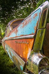 57 Chevy Fin