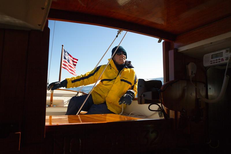 On the sea again...