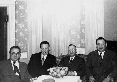 Schiller Brothers -(l-r)  Ike, Abe, Morris and Hy