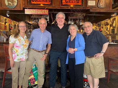 Michael and Kuni Schmertzler,  Eric Schiller, Henrietta Davis and Michael Davis
