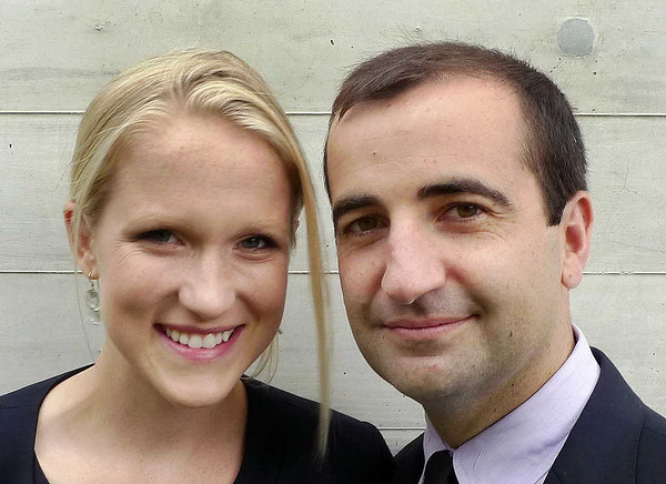 Emily Blanchard and husband David Breslin