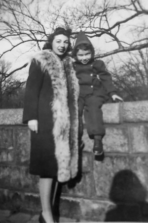 Florence Ryack and son Paul