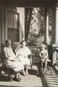 Fannie, Bessie and stranger