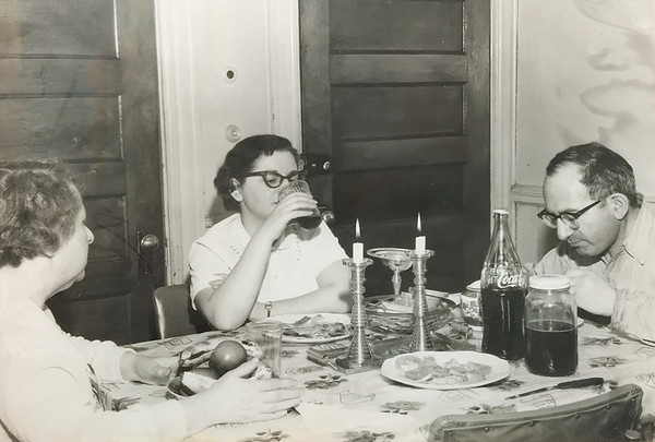 bessie philip and millie shabbat dinner