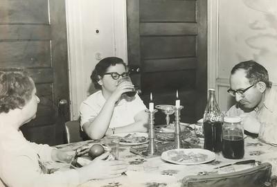 bessie philip and millie shabbat dinner