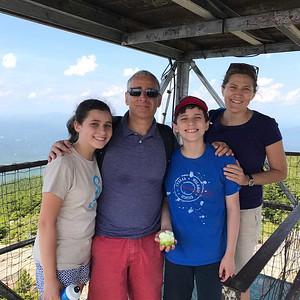 Sarah, Andrew, Max and Susan Schiller