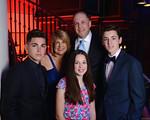 Schlesinger Family (l-r) Jon, Stacey, Sophie (front) Michael, Jacob