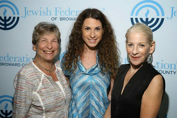 Sue Goldberg, Debbi Gross and Nancy Schlesinger