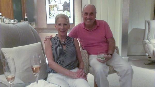 Nancy and Bob Schlesinger