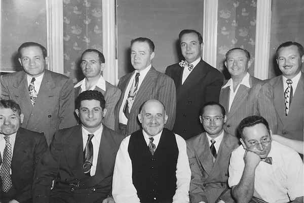 back row 2nd from left philip front right ralph
