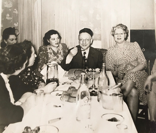 Mary, Bea, Morris, Rose