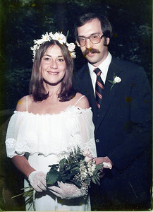 John and Denise's wedding picture