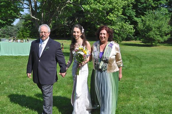 Marisa's wedding - Ricahrd, Marisa and Anne