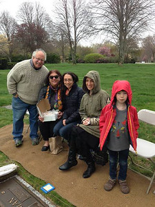 Richard, Anne, Marisa, Chloe and Ari