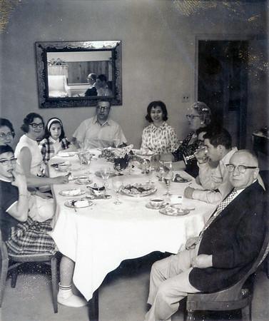 Passover  - (l-r) John, Mildred, Sara, Debby, Bike, Sisi, Rose, Ricahrd, Allen, Morris