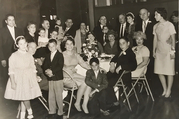 Michael Davis' Bar Mitzvah - great family photo
