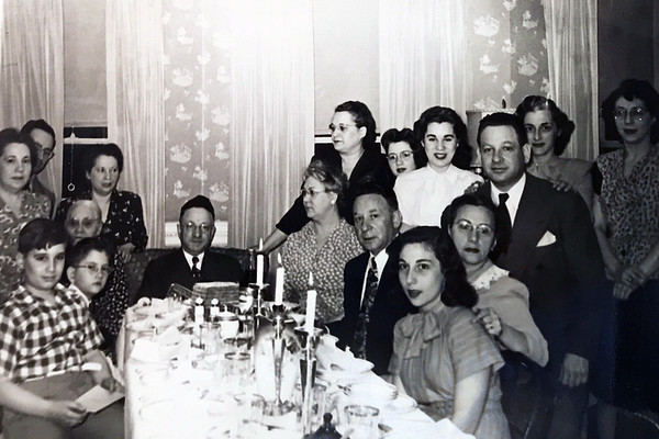 Morris and family Passover