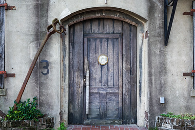 Wooden Door | Savannah, Georgia