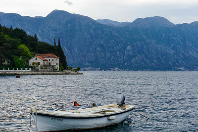 Boats in Bay of Kotor | Montenegro