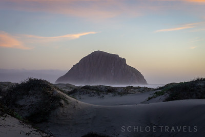 Sand Dunes | Morro Rock, California