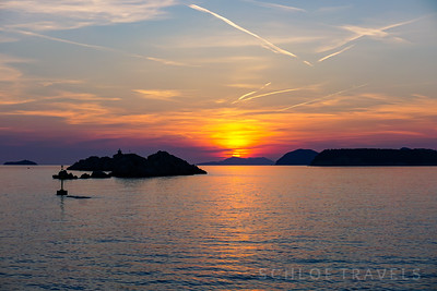 Adriatic Sea Sunset | Dubrovnik, Croatia