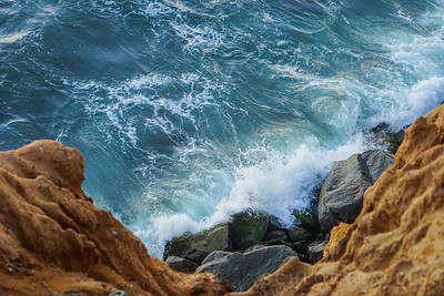 Crashing Waves | Sunset Cliffs, California