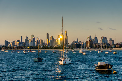 Sailboats | Melbourne, Australia
