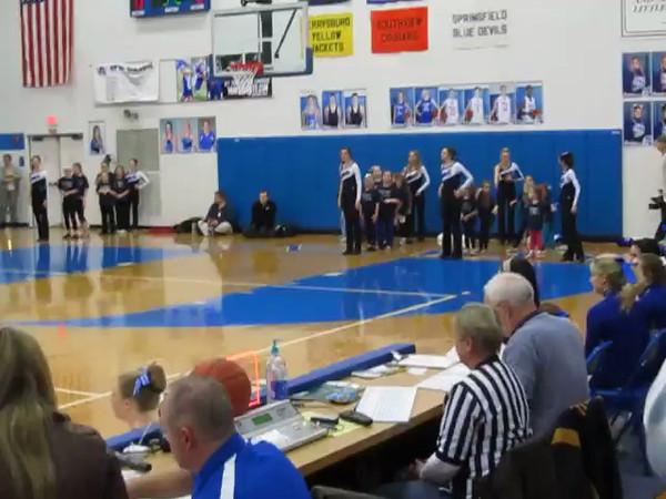Girls Just Wanna Have Fun - AWHS Dance Clinic 2013 - AWHS Basketball Game - Feb. 5, 2013