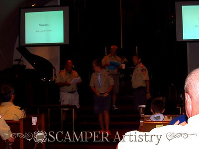 Boy Scouts Troop 101: 2011-2012