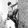Andy Wright on Jaws 5.10d fingers