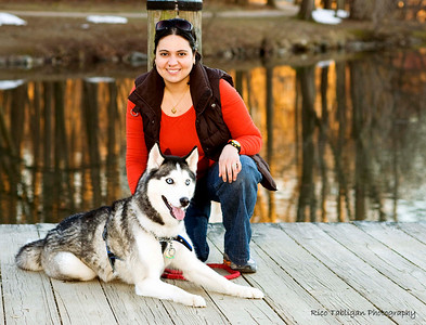 The 2 most important in my life: my dog & my wife (not in that order:))