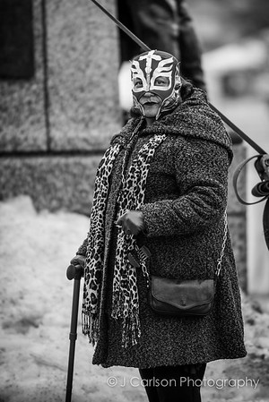 Women With Lucha Libre Masks