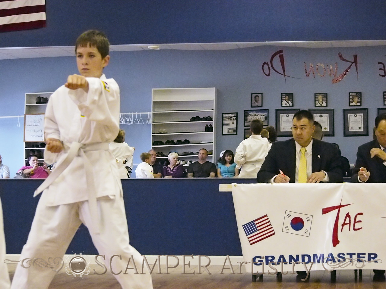 American Tae Kwon Do 2013 June 1st testing