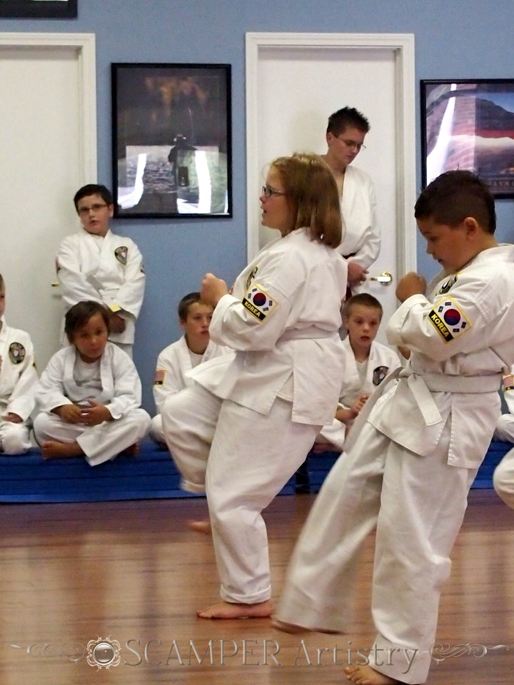American Tae Kwon Do 2013 - September 7th testing