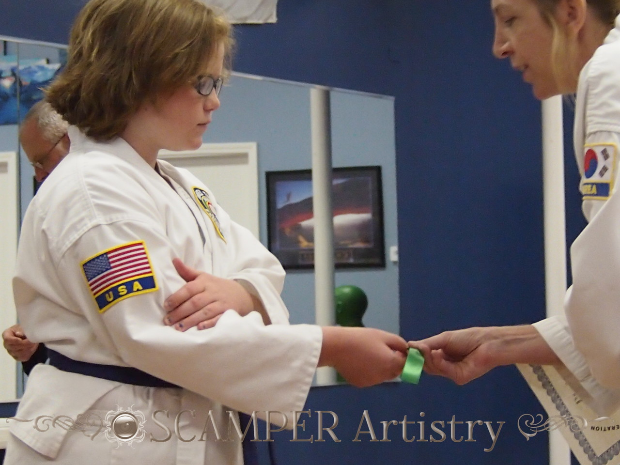 Belt Ceremony and Art Commissioned June 16, 2014
